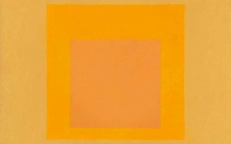 Josef Albers, Homage to the Square (1961) (detail). Oil on masonite. 45.7 x 45.7 cm. Courtesy Miles McEnery Gallery.