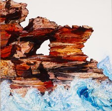 Rock Wash by Neil Frazer contemporary artwork