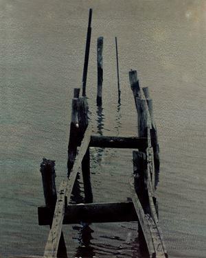 Laguna #23 by Euro Rotelli contemporary artwork