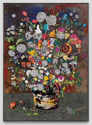 Bouquet of Flowers (Strasbourg) [B60] by Matthew Day Jackson contemporary artwork
