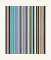 Edge of Light by Bridget Riley contemporary artwork print