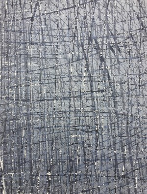 Iteration Silver Fields by TJ Bateson contemporary artwork