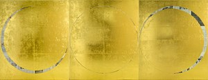 untitled 2017 (eclipse of the soul) (international herald tribune, october 4, 2012, december 4, 2012, january 21, 2013) by Rirkrit Tiravanija contemporary artwork