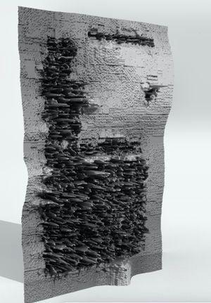 Multispec AR Form by Orson Heidrich contemporary artwork sculpture