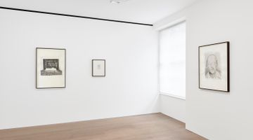 Contemporary art exhibition, Luc Tuymans, Monkey Business at David Zwirner, London