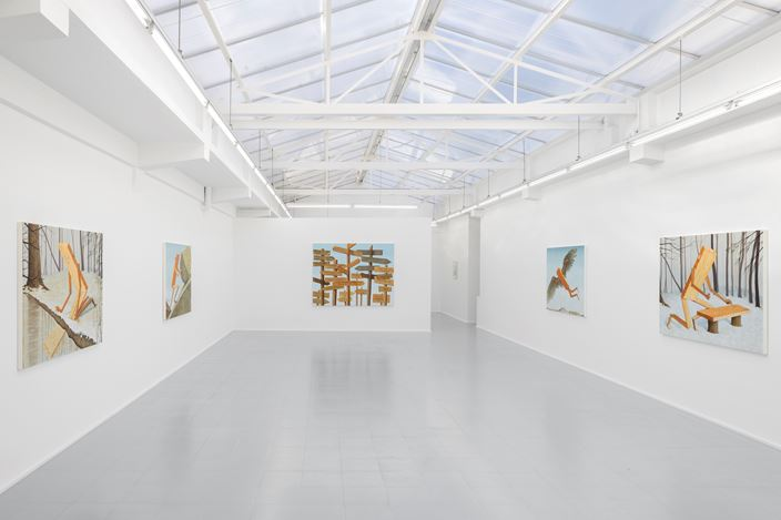 Exhibition view: Sean Landers, rodolphe janssen (7 November–12 December 2019). Courtesy the artist and rodolphe janssen, Brussels. Photo: HV photography.