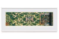 Brasil 1500 - 1997 by Anna Bella Geiger contemporary artwork print, drawing