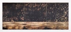 Golden (Obsidian Scene 2) by Teresita Fernández contemporary artwork