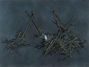 Il gioco del perché by Emilio Scanavino contemporary artwork