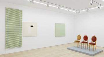 Contemporary art exhibition, John Armleder, Solo exhibition at Almine Rech, New York