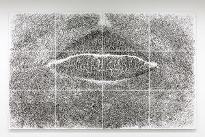 Spine d'acacia - contatto, marzo 2005 by Giuseppe Penone contemporary artwork