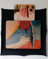 Sometimes there's an external drive by Radhika Khimji contemporary artwork painting, works on paper