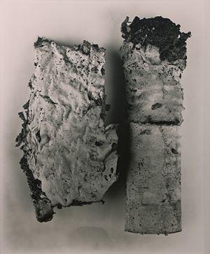 Cigarette 42, New York by Irving Penn contemporary artwork