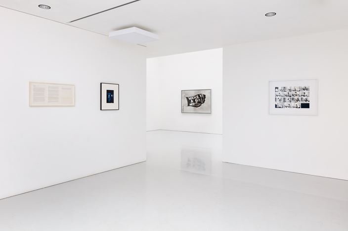 Exhibition view: Rose Finn-Kelcey, Kate MacGarry, London (14 February–31 July 2020). Courtesy Kate MacGarry.Photo: Angus Mill.