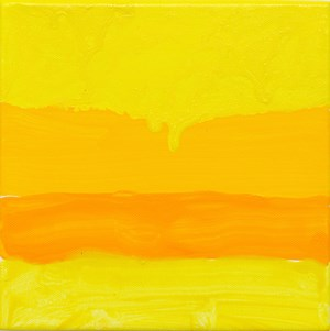 California Sunset by Mary Heilmann contemporary artwork