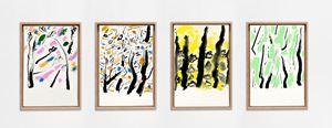 Les quatre saisons by Etel Adnan contemporary artwork