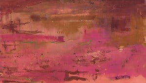 Dream Walk Red by Helen Frankenthaler contemporary artwork