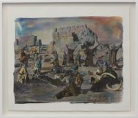 Silk Road #8 by Chen Nong contemporary artwork mixed media