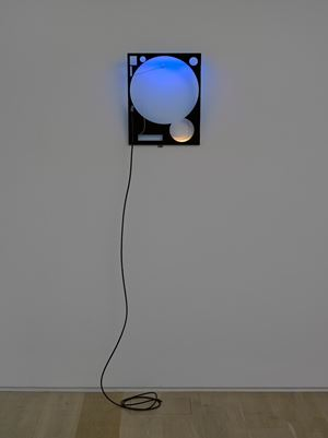 LED Circuit Composition 24 (GMT) by Haroon Mirza contemporary artwork