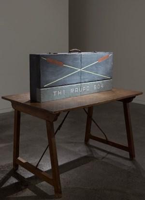 The Raupo Boy by Denis O'Connor contemporary artwork