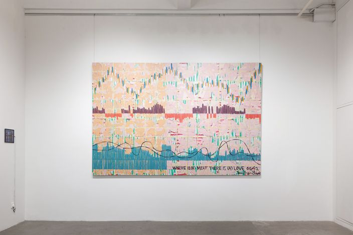 Exhibition view:Midsummer Vibrations 盛夏的震盪,Hanart TZ Gallery, Hong Kong (24 July – 14 August 2021). Courtesy Hanart TZ Gallery.