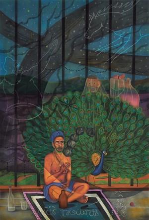Complaining Man II by Abul Hisham contemporary artwork