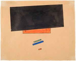 Suprematism by Ilya Chashnik contemporary artwork