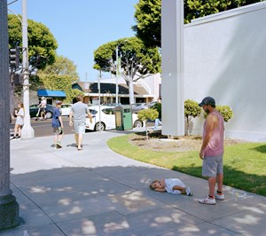 Parent child by Jeff Wall contemporary artwork