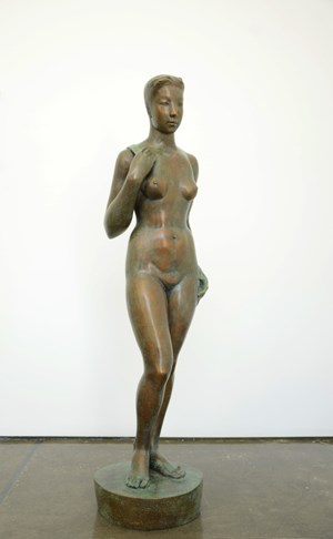 Big Woman Statue by Geng Xue contemporary artwork