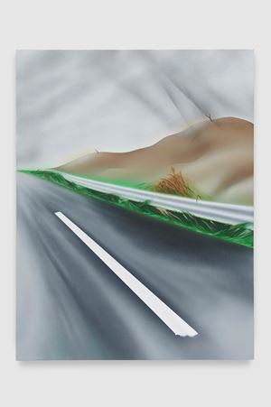 Siberian Wind (Driving to Arezzo on a Sunday in February) by Nicholas Hatfull contemporary artwork