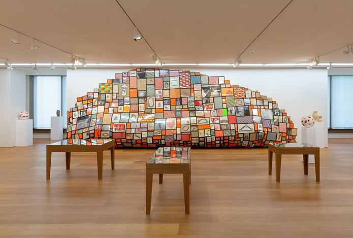 Exhibition view:Barry McGee, The Other Side彼岸, Perrotin, Hong Kong (10 October–9 November 2019). © Barry McGee. Courtesy the artist,Perrotin, and Ratio 3, San Francisco.Photo: Ringo Cheung.