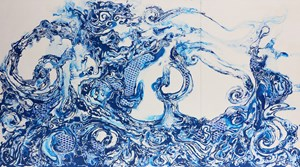 The Powerful Emotions of the Ocean no. 3 by Pannaphan Yodmanee contemporary artwork