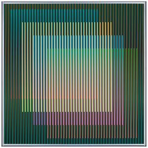 Physichromie n°2570 by Carlos Cruz-Diez contemporary artwork