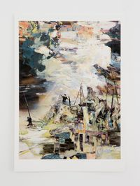 The Signalmen * by Hernan Bas contemporary artwork print