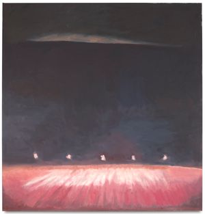 Intermission by Luc Tuymans contemporary artwork