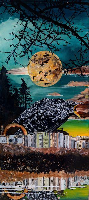 Das Träumen nicht vergessen by Wolf Hamm contemporary artwork