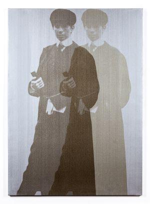Double Ghost Yentl (My Elvis) by Deborah Kass contemporary artwork