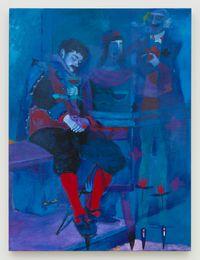Blue Dream by Joshua Petker contemporary artwork painting