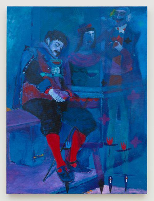 Blue Dream by Joshua Petker contemporary artwork