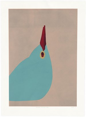 Six Linocuts by Gary Hume contemporary artwork