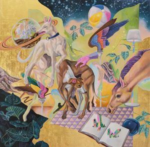 Halcyon Guardian by Ou Jing-Yun contemporary artwork