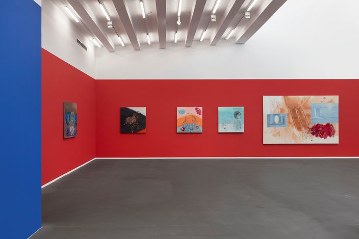 Exhibition view: Xie Nanxing,A Roll of the Dice, Galerie Urs Meile, Beijing (7 November 2020–31 January 2021).Courtesy the artist and Galerie Urs Meile, Beijing-Lucerne.