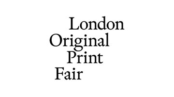 Contemporary art exhibition, London Original Print Fair at Paragon, London, United Kingdom