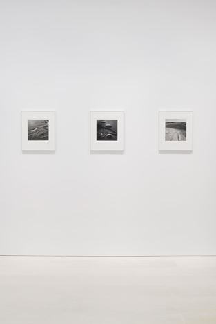 Exhibition view: Emmet Gowin, The Nevada Test Site, Pace Gallery, New York (25 October–21 December 2019). Courtesy Pace Gallery and Pace/MacGill.