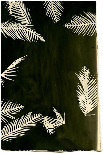 Palmograph #3 by Bruno V. Roels contemporary artwork