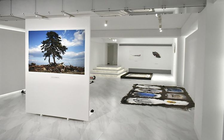 Exhibition view: Tomohiro Muda, Icons of Time 2021,√K Contemporary, Tokyo (11–26 March 2021).Courtesy√K Contemporary.