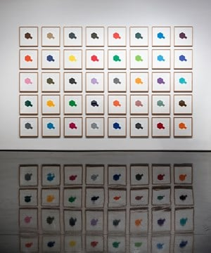 Tamiya Colour Chart by Peter Atkins contemporary artwork