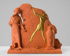 Scene at Edfu by Linda Marrinon contemporary artwork sculpture