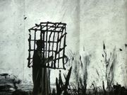 William Kentridge's Real and Metaphorical Cages Illuminate a Protest on Deportation