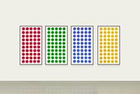 Color Dots by HWANG Gyutae contemporary artwork photography